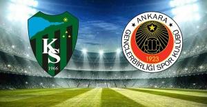 Mağlubiyet 90'da geldi:     Kocaelispor 1 Gençlerbirliği 2