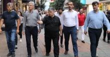 Başkan Ellibeş, bayram dönüşü yine sahada