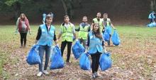 Dünya Temizlik Günü'nde çöpler toplandı